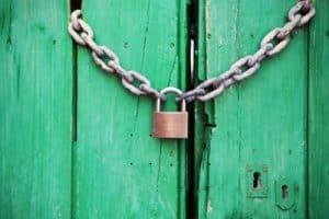 Förhindra inloggning med epost-adress
