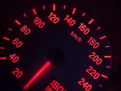 mäta hastighet